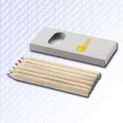 Crayons de couleurs écologiques en carton